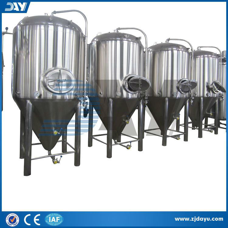 Used Stainless Steel Beer Conical Fermentation Tanks (CE)