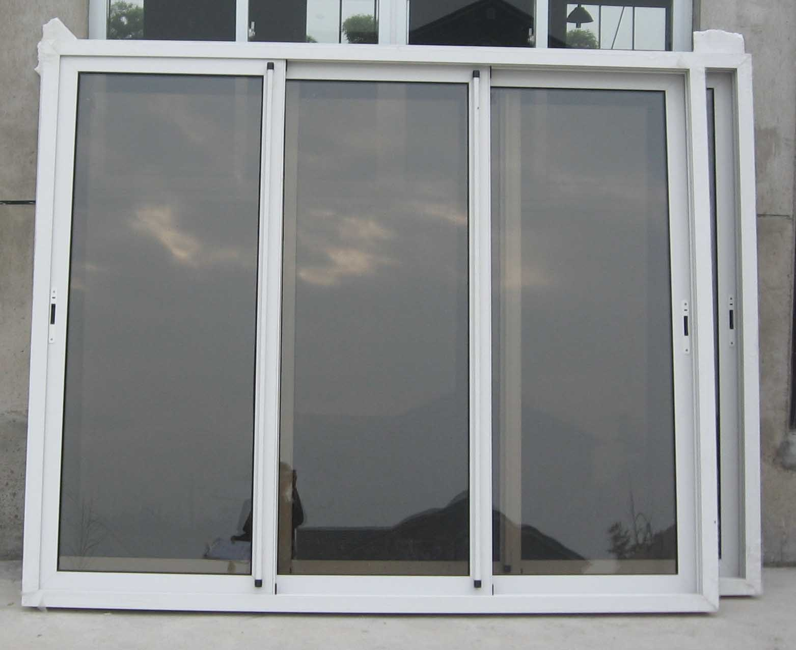 China three track sliding door china sliding door for Sliding door manufacturers