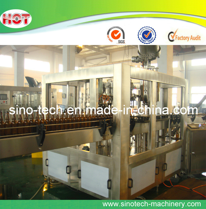 Glass Bottle Beer Filling Line (BWFC series)