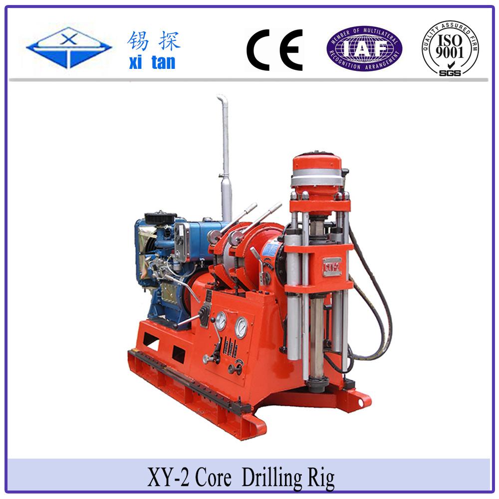 Xitan Xy-2 Core Exploration Drilling Rig Soil Survey Drill Rig Xy2 Geological Exploration Drilling Rig