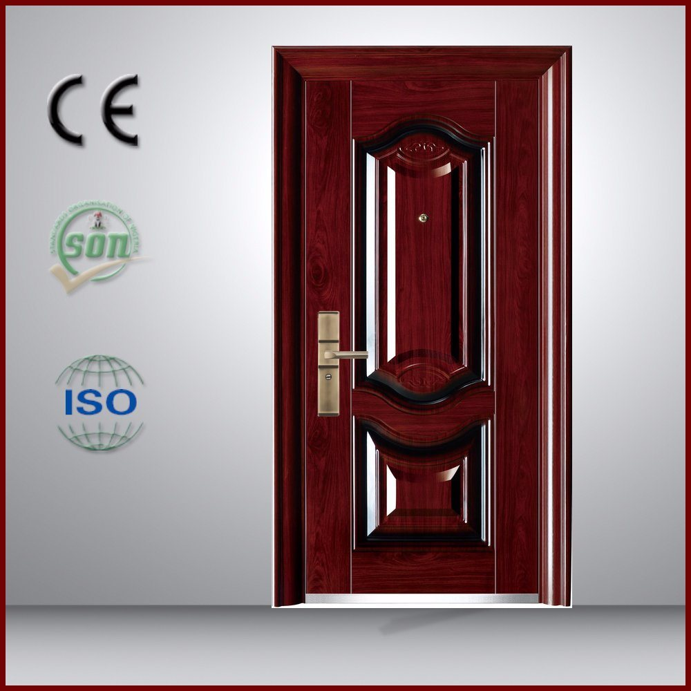 Luxury Design Commercial Used Security Door for Home