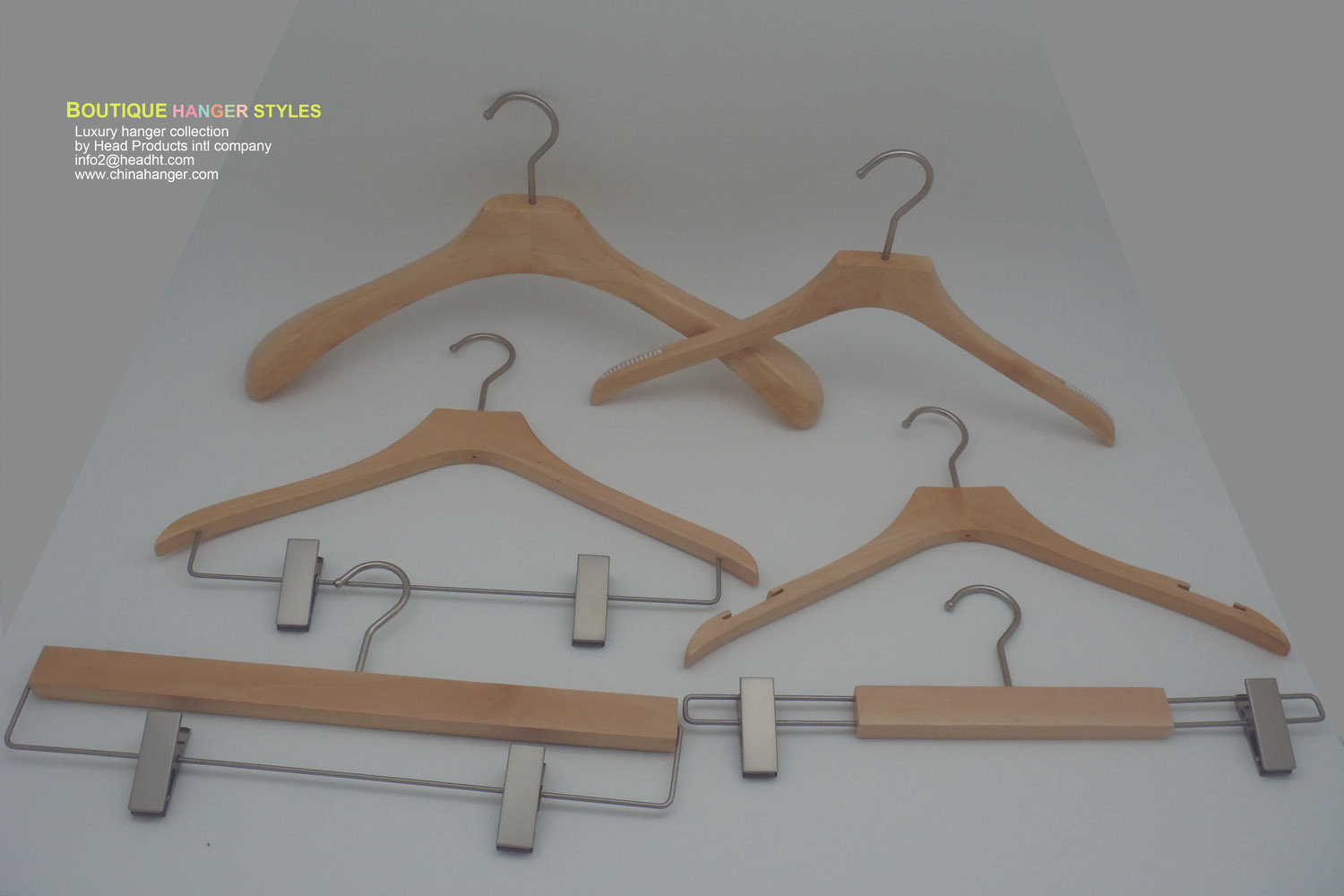 Discount Price Wooden Clothes Hanger Hangers for Jeans