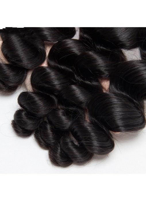 Human Hair Loose Wave Bundles Hair Extension Unprocessed Weave
