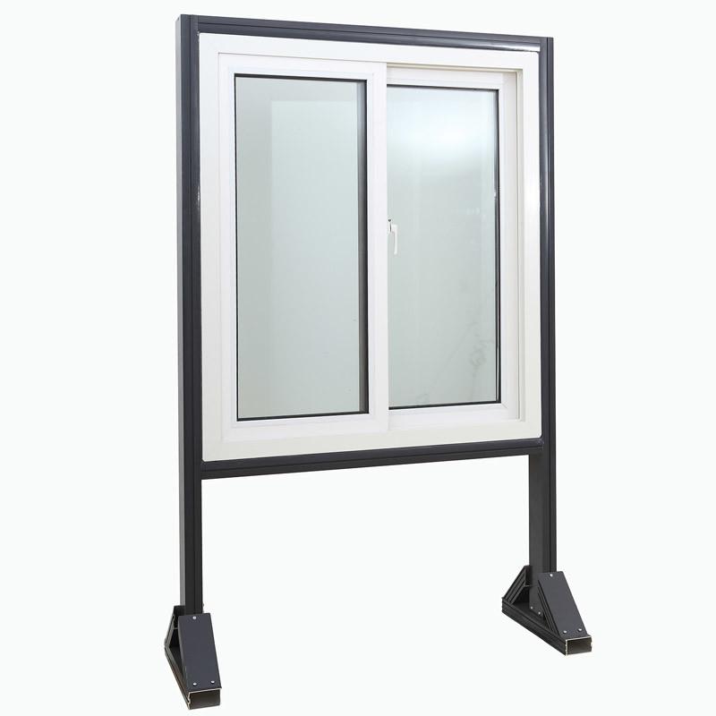 Standard Size Energy Saving Double Plastic PVC Window UPVC Sliding Glass Window