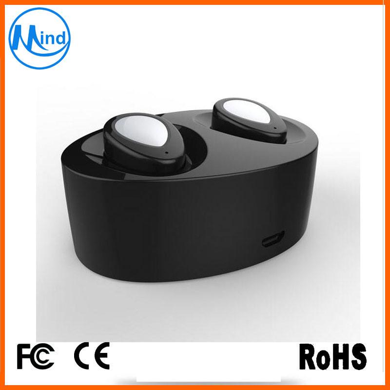 True Wireless Bluetooth Earbuds Stereo in-Ear Headset Earphone