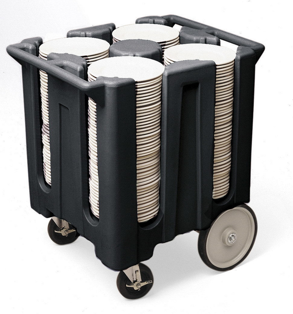 Hotel Adjustable Dish Dolly Storage Cart