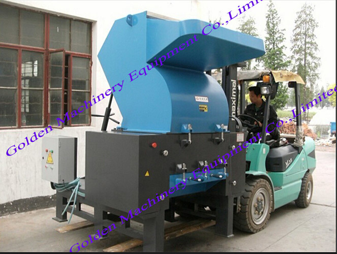 Waste Plastic Pet Bottle Crusher Plastic Film Rubber Crusher
