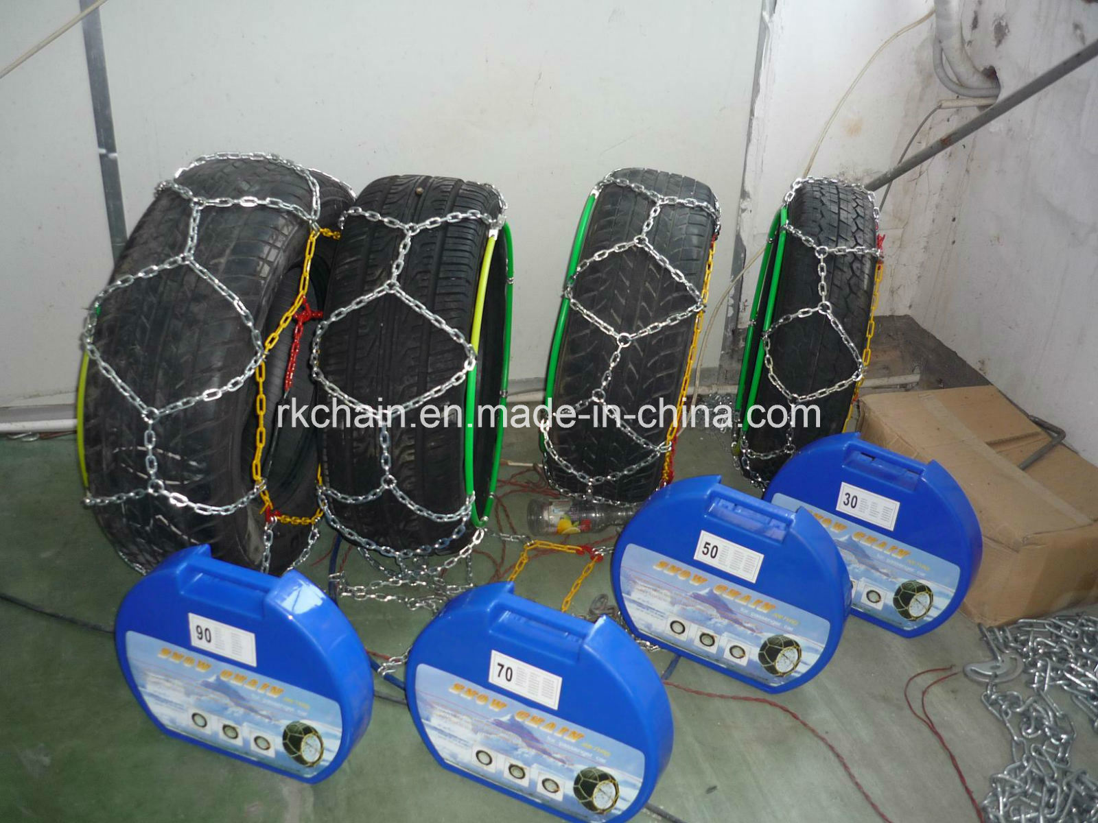 Tire Chain with Complete Specifications and Reliable Quality