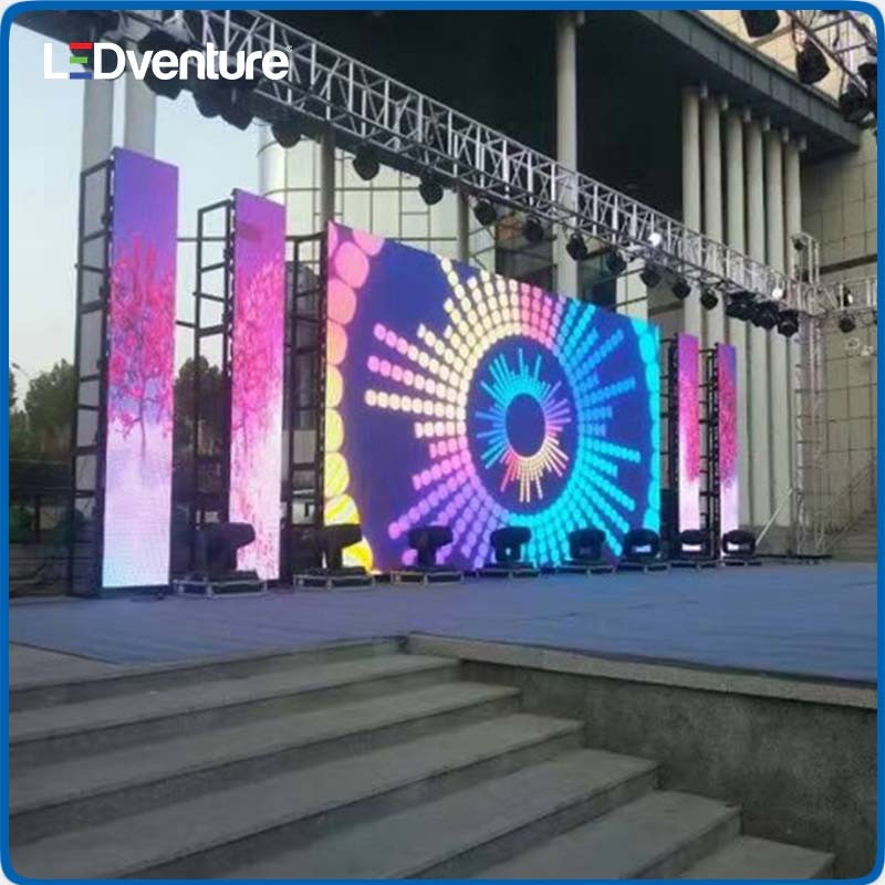 Outdoor Full Color Rental Giant LED Screen for Events