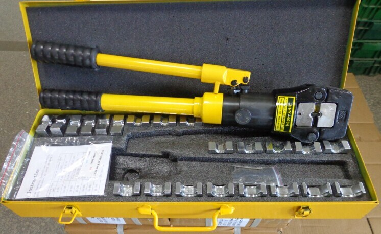 China 400sqmm Hydraulic Hand Crimper Cable Lug Crimping