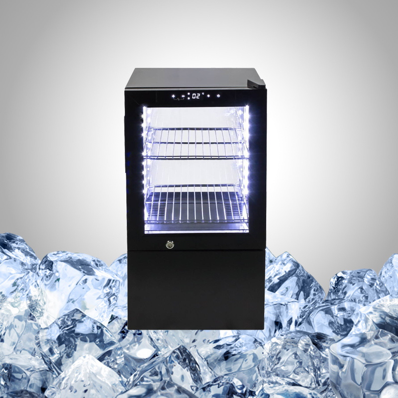 All Glass Fridge for Drink