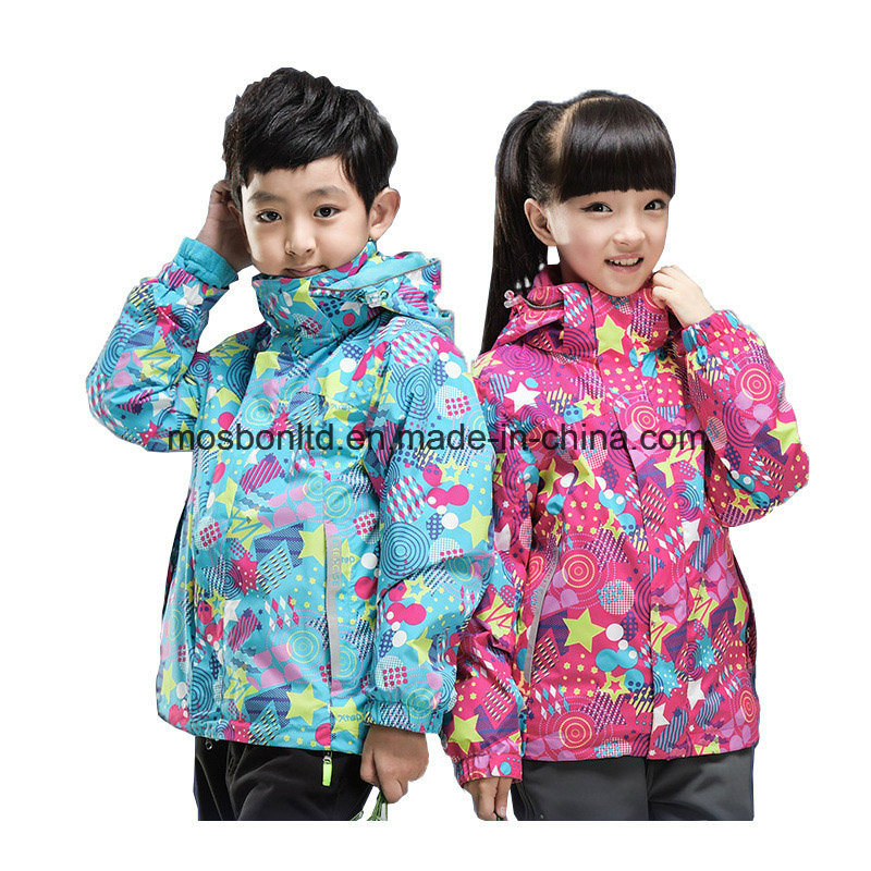 Fashion Good Quality Windproof Thermal Ski Jacket for Children