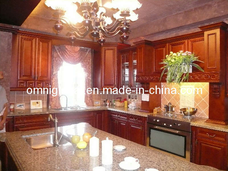 china american style solidwood kitchen cabinet photos