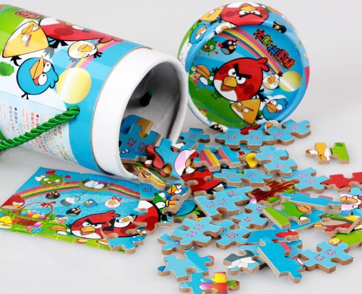 Barrelled Cartoon Printing MDF Jigsaw Puzzle