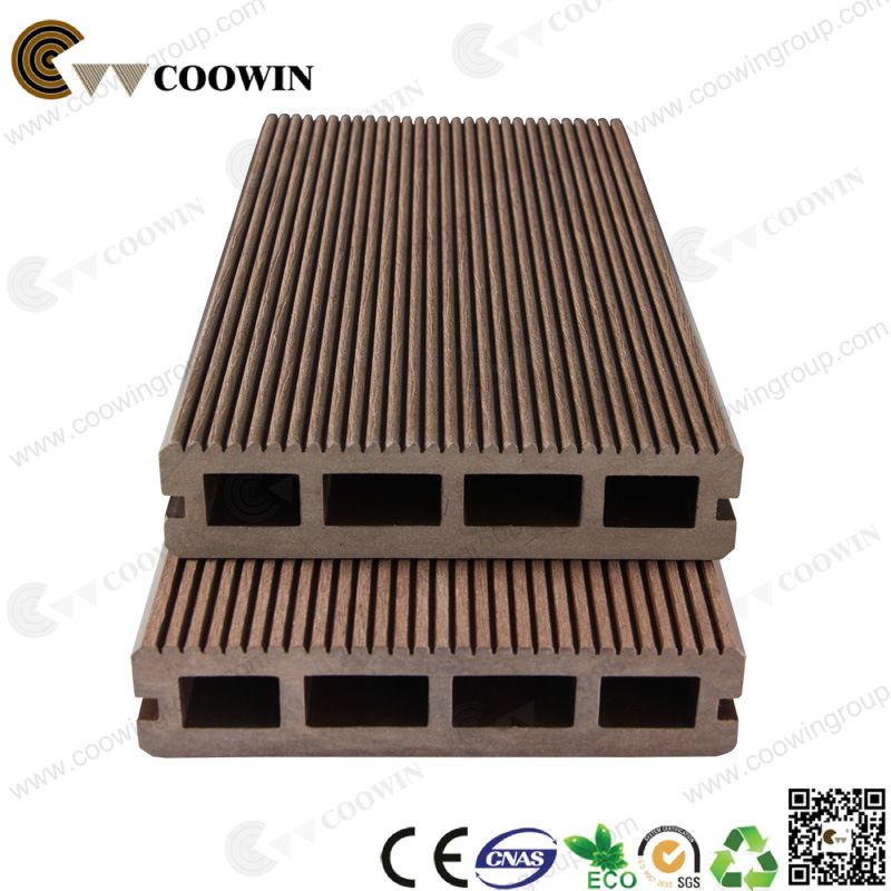 Wood Plastic Vinyl Floor Covering Outdoor