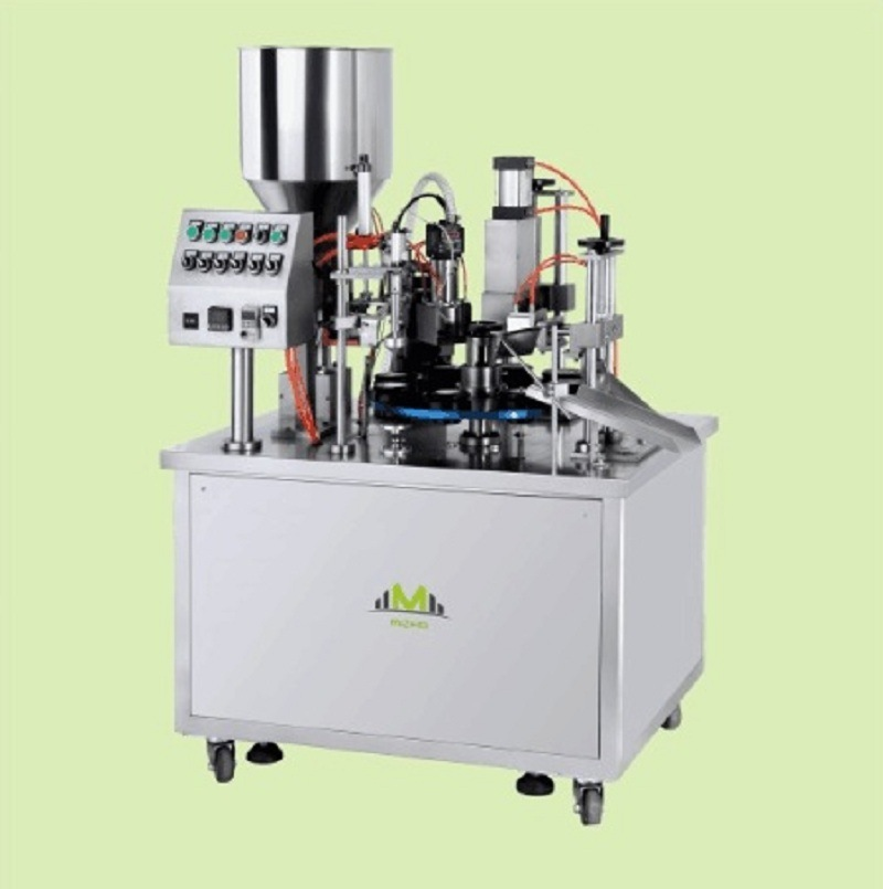 Laminated Tube and Plastic Tube Filling and Sealing Machine