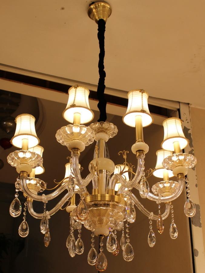 Phine 02155 Modern Pendant Lighting with Swarovski or K9 Crystal Decoration Fixture Lamp Chandelier Light
