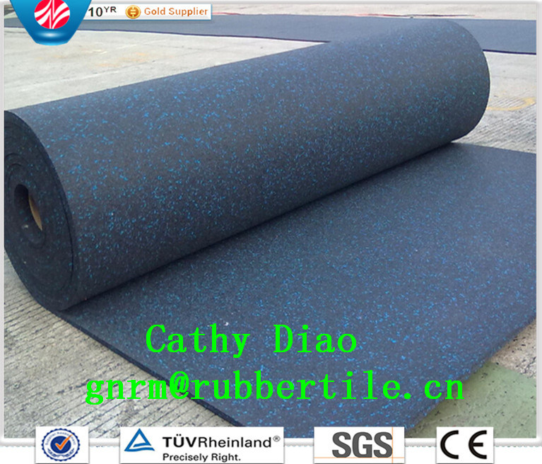 Hot Sale EPDM Recycled Gym Equipment Rubber Flooring Cover, Crossfit Fitness Flooring, Gymnasium Flooring
