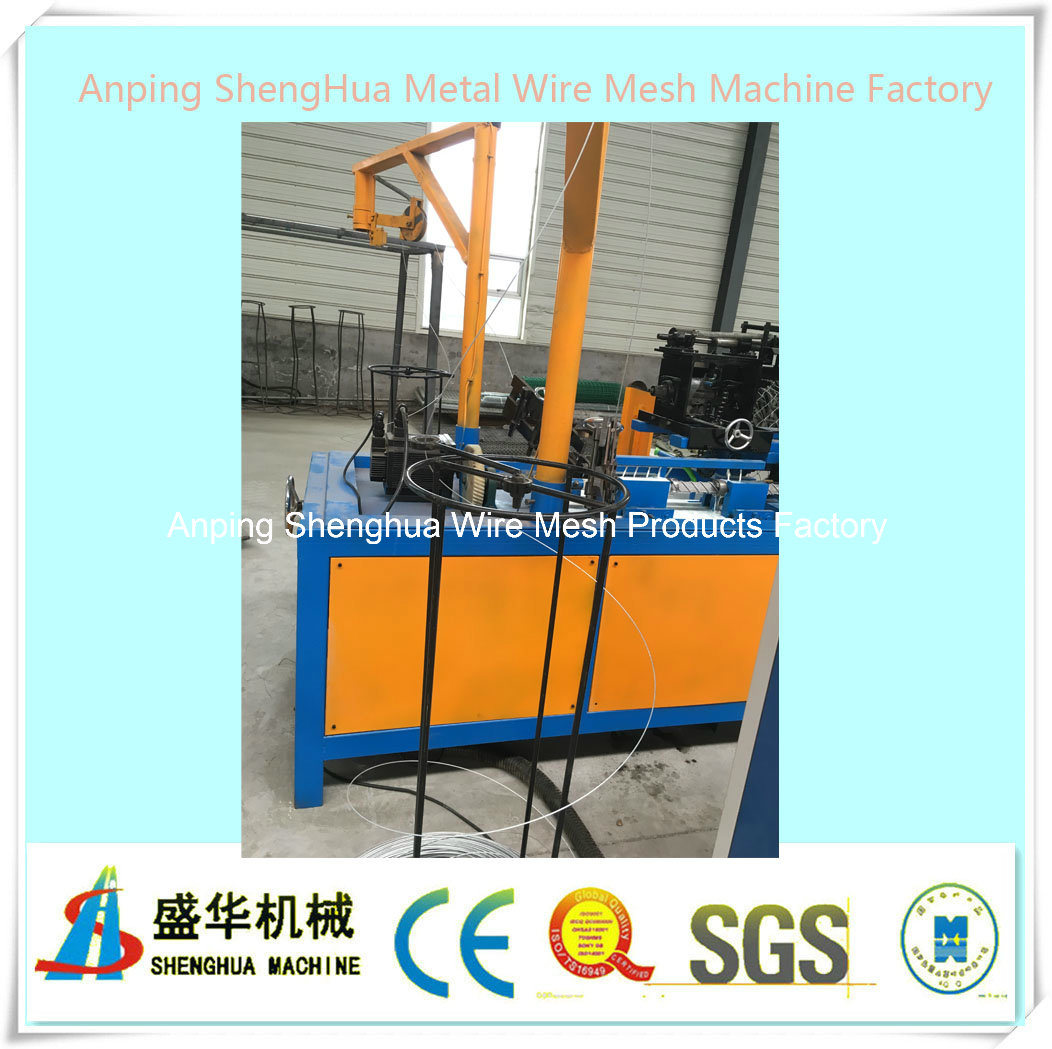 Full Automatic Chain Link Fence Machine (diamond mesh machine)