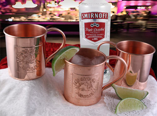 High Quality Copper Moscow Mule Mug
