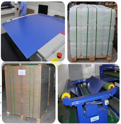 Two Layer Thermal CTP for UV Ink Printing Use