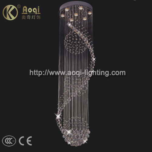 Bending Decorative European Crystal Lamp (AQM9066)