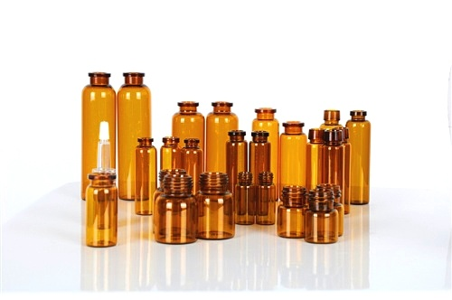 Kinds of High Quality Amber Glass Vials