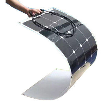 Customized Designed Home Solar Systems Semi Flexible Solar Panel 100W