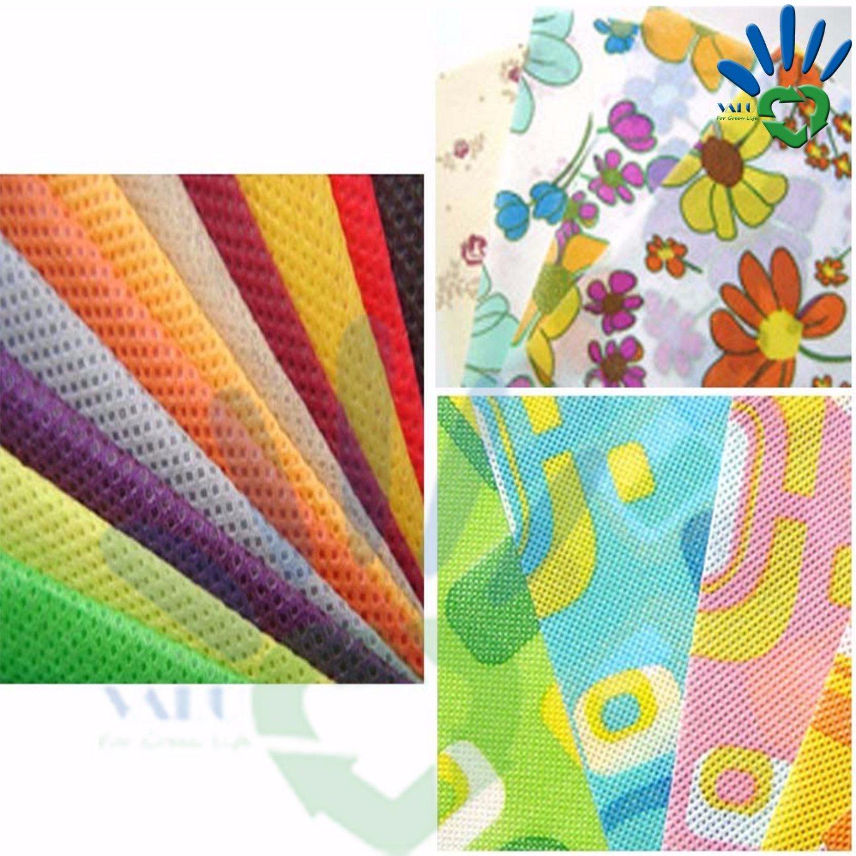 Wardrobe Textile Polypropylene Spun Bonded Non Woven Fabric