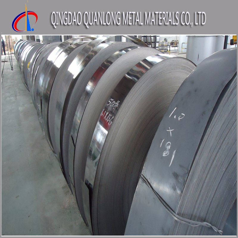 Hot Dipped Galvanized Cold Rolled SPCC Steel Strip