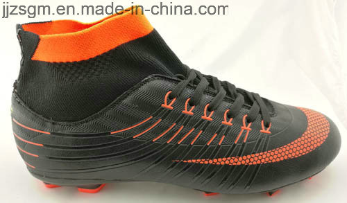 New Arrivals Football/Soccer Sports Shoes with Flyknit Sock