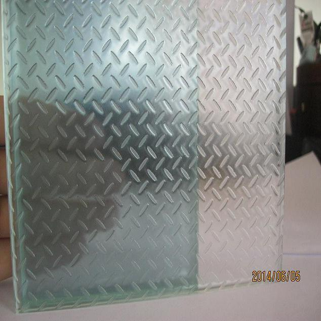 Anti Slip Laminated Glass Floor