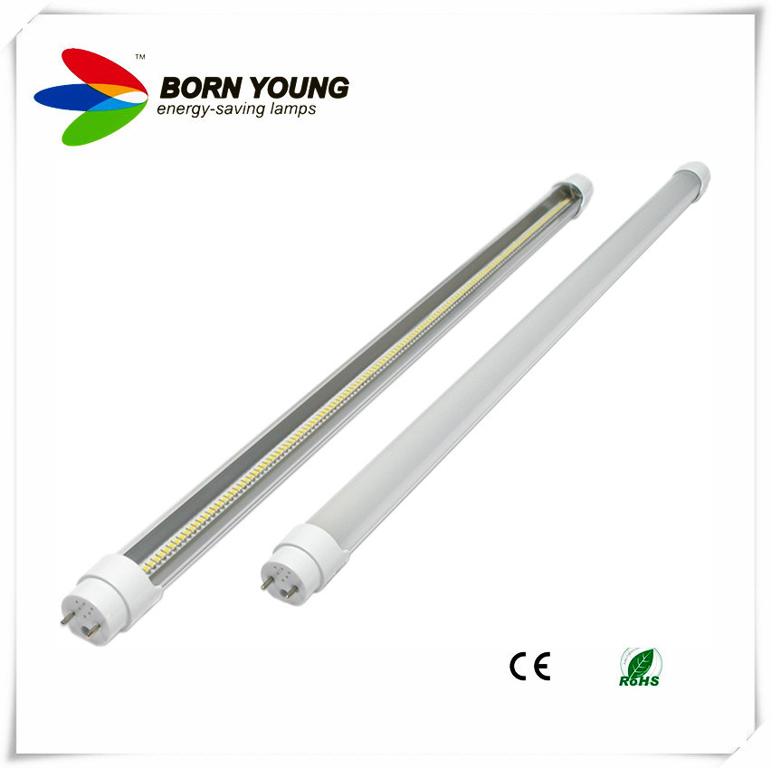 220V 18W 360 Degree T5/T8 LED Tube Glass