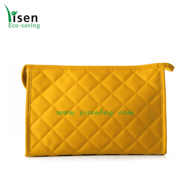 Portable Quilted Cosmetic Makeup Bag (YSCOSB00-0133)
