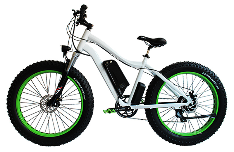 Beach Cruiser 48V 500W Big Power Fat Tire Mountain Electric Bike