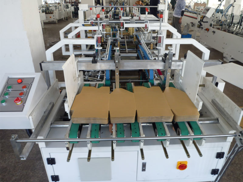 Automatic Bottom Lock Folder Gluer Machine (SHH-1200E)