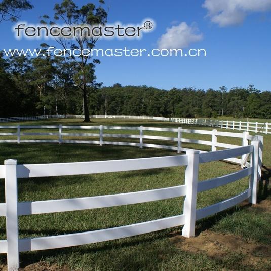 3 Rail Horse Fence