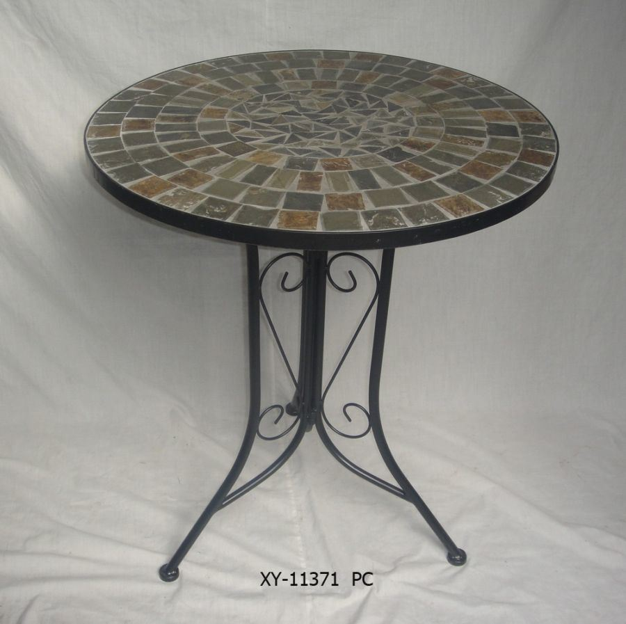 Iron Mosaic Garden Table PL08 5556 Frompo
