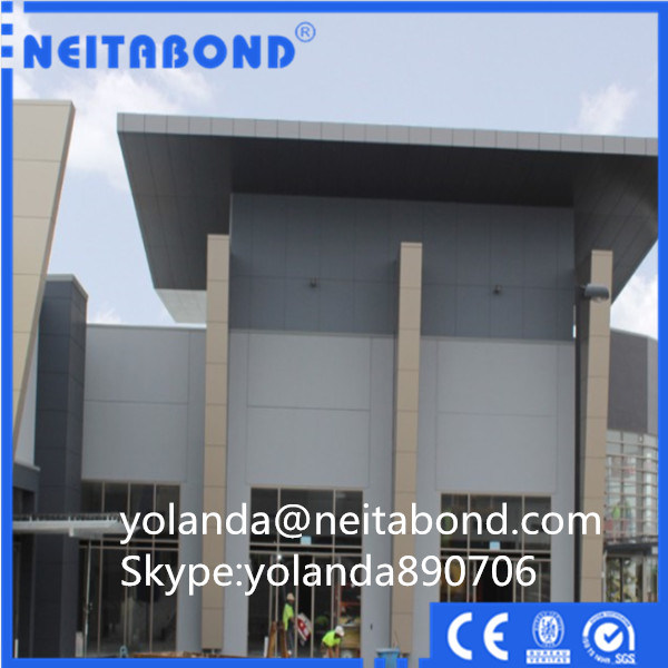 Excellent Easy-Cleaning Nano PVDF Acm Cladding Panels with SGS Certificate