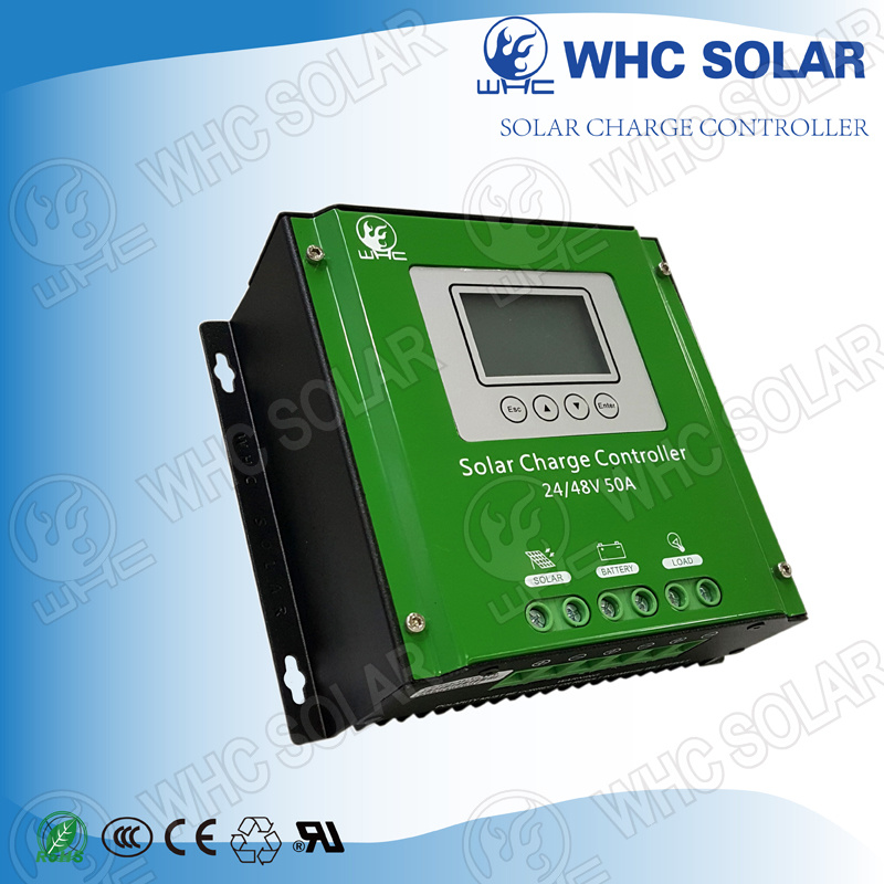 48V 50A PWM Solar Charge Controller with Ce