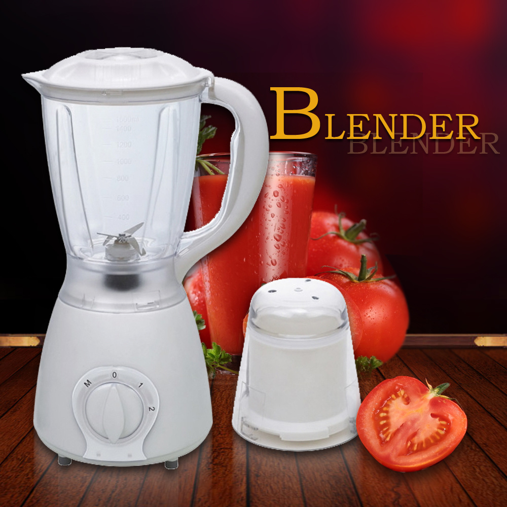 Low Noise Big Handle 1.5L Jar Plastic Blender