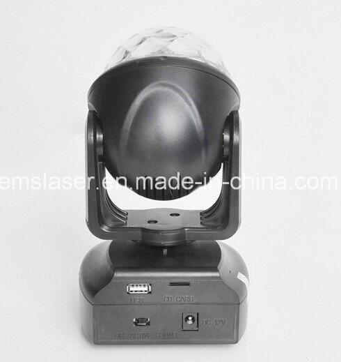 New Mini RGB Moving Head Beam Light LED Magic Ball Light DJ Light