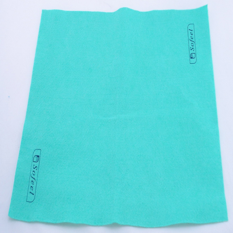 Synthetic Nonwoven Fabric Cloth, Needle Punched Cleaning Cloth