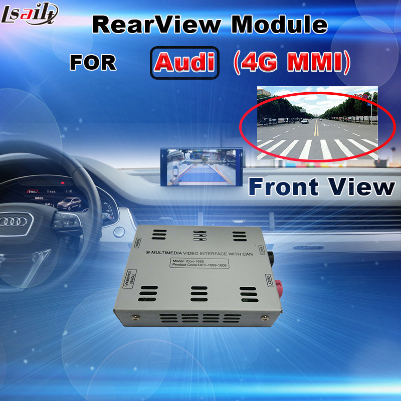 Rear View & 360 Panorama Module for VW Audi Mercedes-Benz Infiniti Honda Peugeot Citroen Mazda Porsche Ford Chevrolet Cadillac etc with HD RGB Signal Output