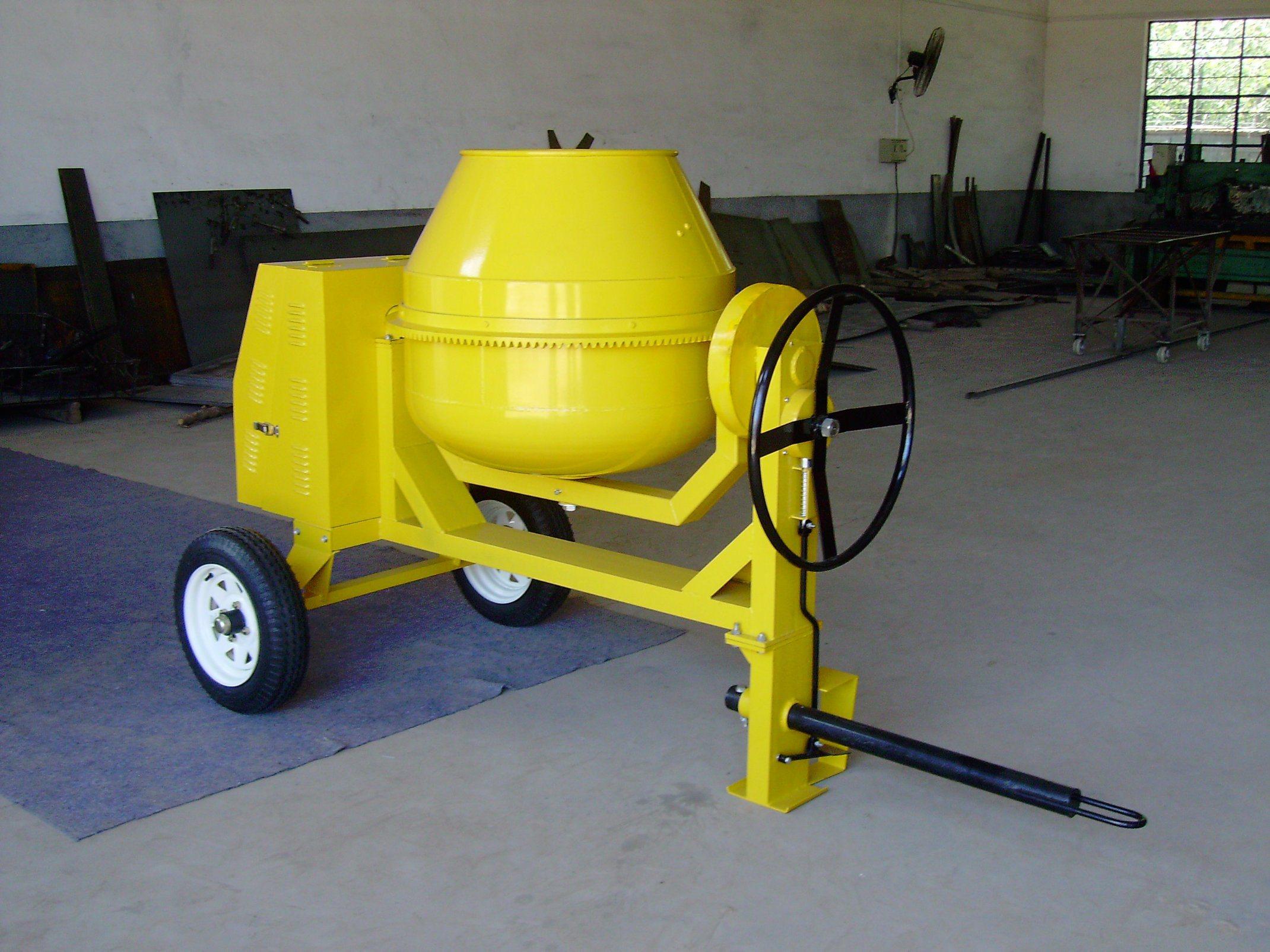 Mini Diesel Concrete Mixer Cm350