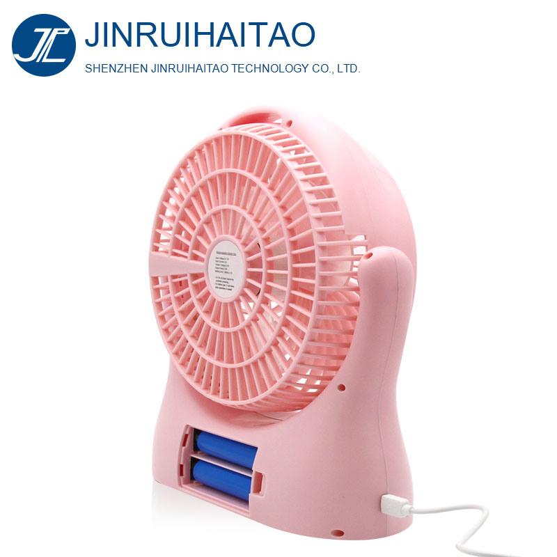 High Speed 10inch Rechargeable Fan DC 12V Mini