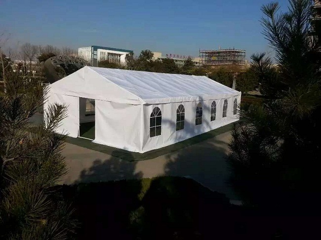 PVC Coated Polyester Tent Fabric Booth Tent Tb0037