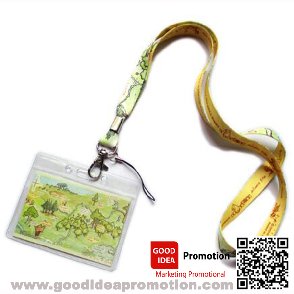 Full Color Lanyard with Photo Printing