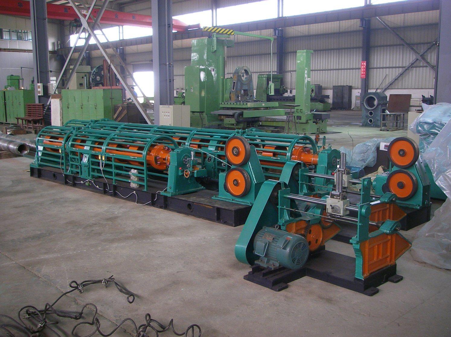Jlg Tubular Stranding Machine, Different Supporting Type