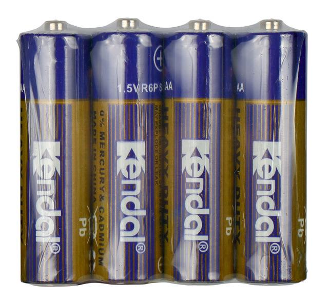 1.5V R03p AAA Size PVC Jacket Carbon Zinc Battery